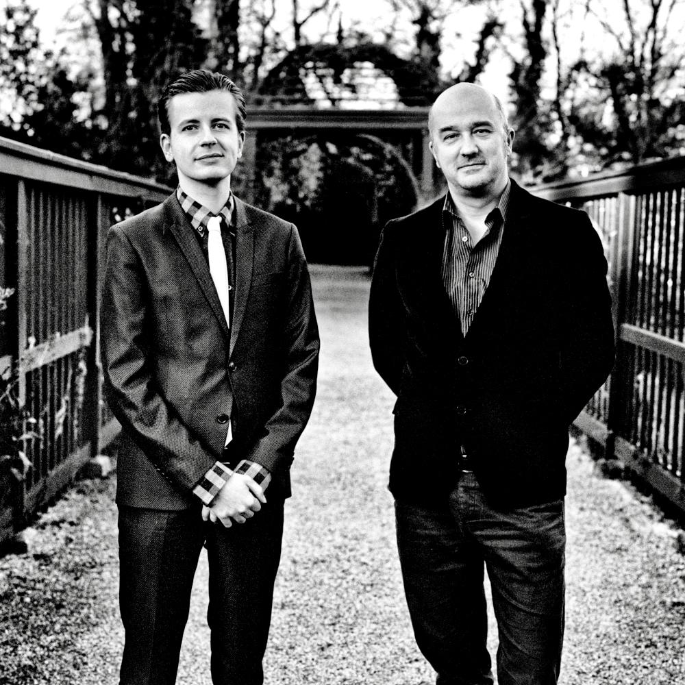 Eminent hipsters Tony Hoyting & Felix Degenaar